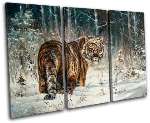 Tiger Wildlife Animals - 13-1132(00B)-TR32-LO